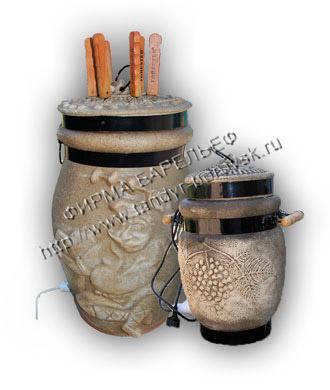 Электрошашлычница керамическая